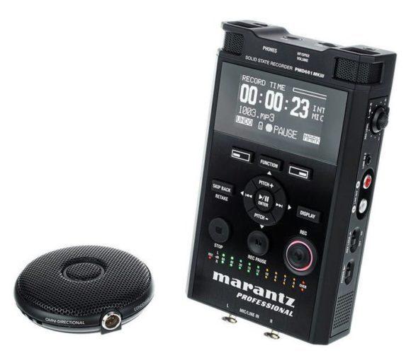 test marantz pmd661 mkiii mobiler recorder. Black Bedroom Furniture Sets. Home Design Ideas