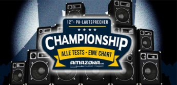 Championship: Die besten 12-Zoll PA-Aktivlautsprecher