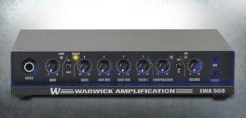 Test: Warwick LWA 500 + WCA 408 LW + WCA 115 LW, Bassverstärker