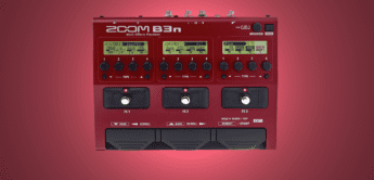 Test: Zoom B3n, Bass Multieffektpedal