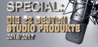 Special: Die 22 besten Studioprodukte 2016/2017
