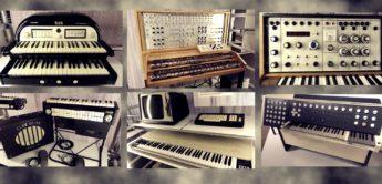 Übersicht über historische, elektronische Musikinstrumente
