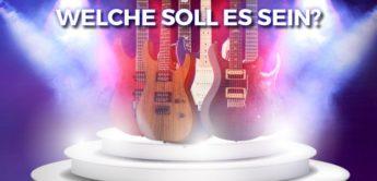 Feature: Kaufberatung für Mittelklasse E-Gitarren