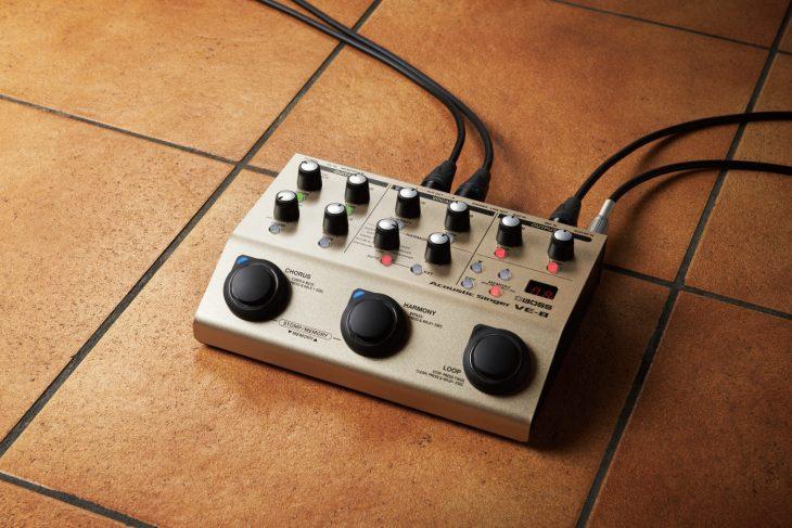 boss ve8 test akustik gitarre effektgerät