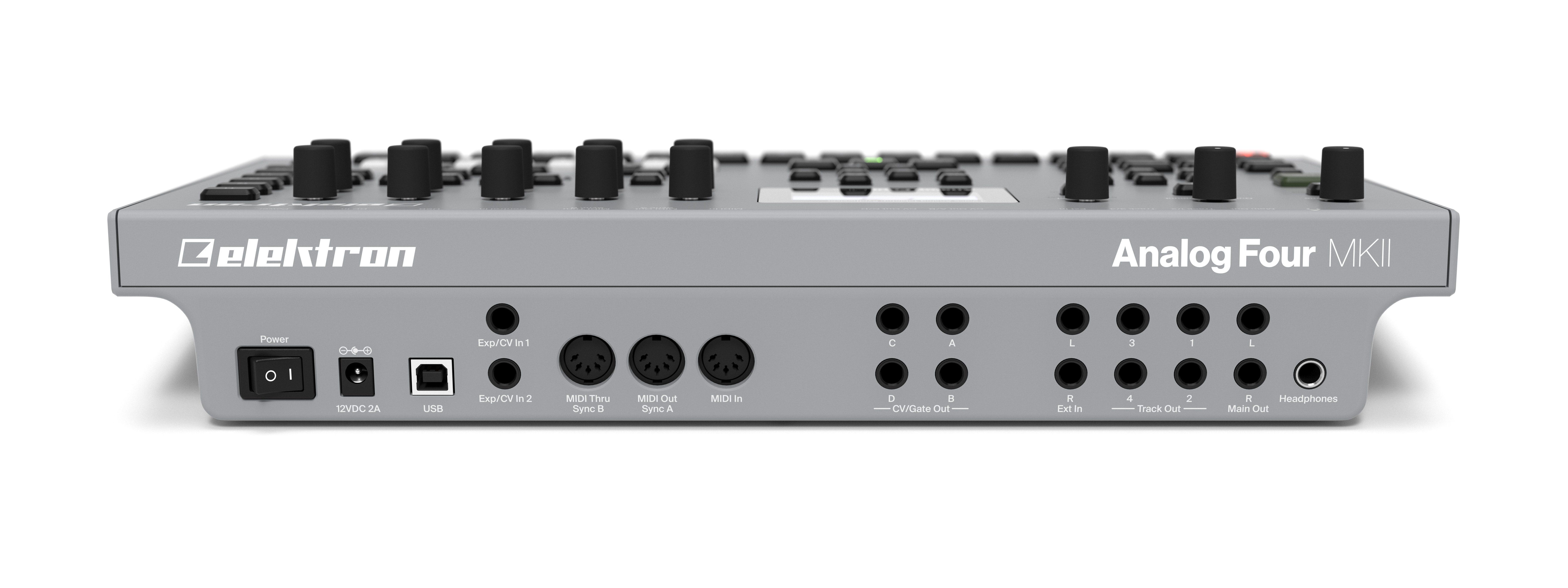 top news elektron analog four mkii synthesizer. Black Bedroom Furniture Sets. Home Design Ideas
