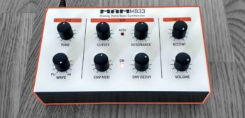 Test: MAM MB33 retro, Analogsynthesizer