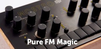 Pre-Order: Outer Space Mostro FM-Synthesizer