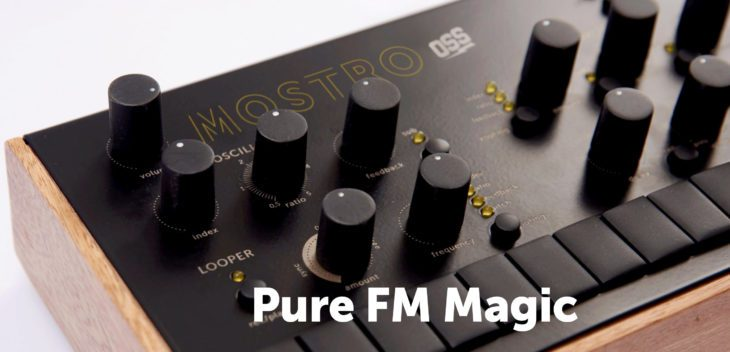 Pre-Order: Outer Space Mostro FM-Synthesizer - AMAZONA de