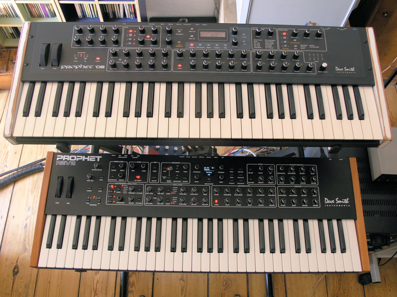 test dave smith instruments prophet rev2 synthesizer seite 2 von 7. Black Bedroom Furniture Sets. Home Design Ideas