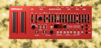 Top News: Roland SH-01A Boutique Synthesizer