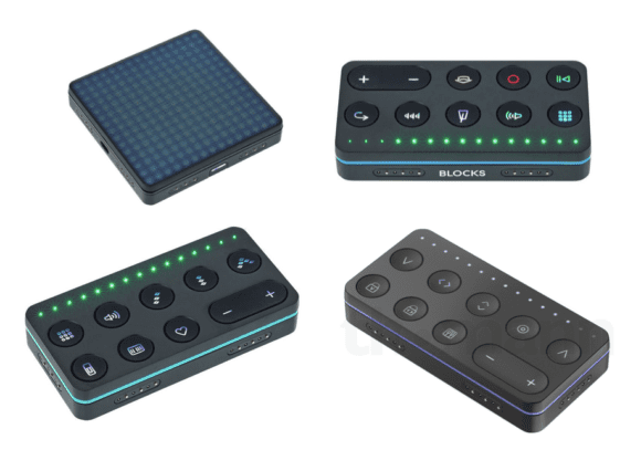 Roli Block Lightpad, Loops, Live & Touch