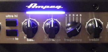Test: Ampeg PF-800 Top, Bassverstärker