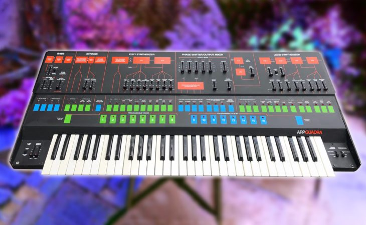 ARP Quadra Synthesizer