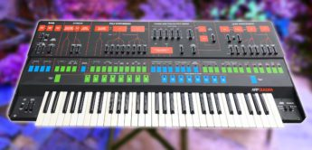 Blue Box: ARP Quadra, Analog Ensemble-Synthesizer