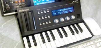 Test: Roland A-01, CV/Gate & MIDI Zentrale