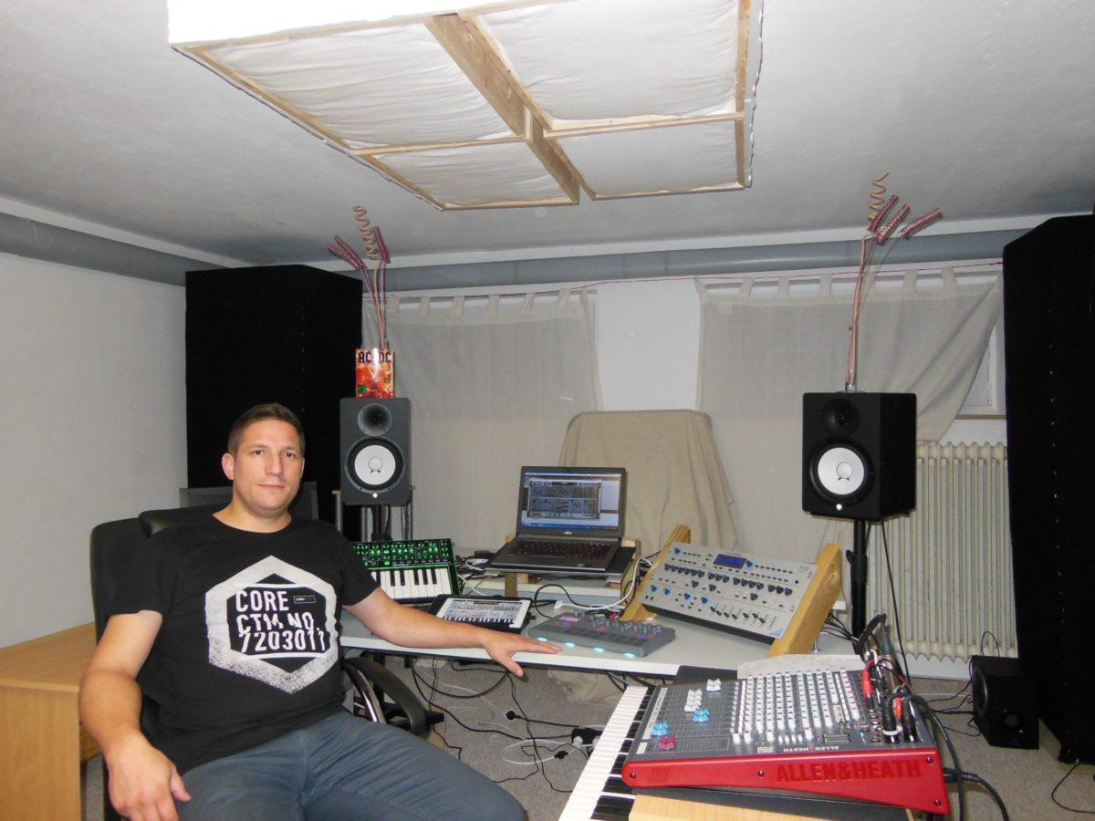 Thorben in seinem Studio