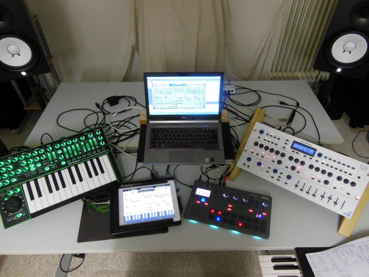 Kleines, aber feines Synthie-Set-Up