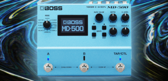 Test: BOSS MD-500, Gitarren Multieffekt Pedal
