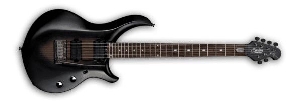 Sterling by Music Man Petrucci Majesty 6 Black