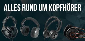 Alles rund um Studio-Kopfhörer & DJ-Headphones