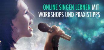 Online Singen Lernen mit Workshops und Praxistipps
