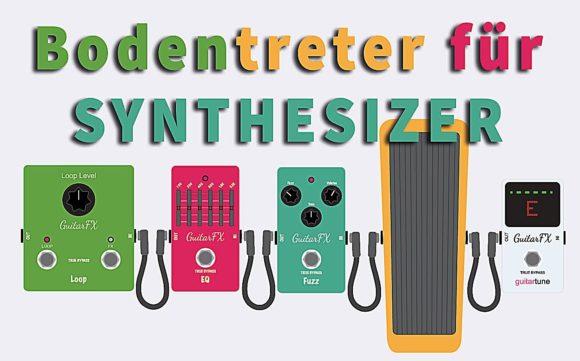 Bodentreter für Synthesizer