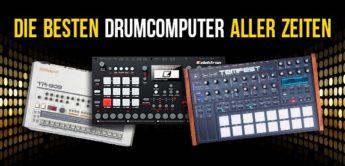 Die besten Drumcomputer aller Zeiten