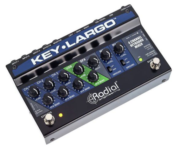 Radial Engineering Key Largo top 2