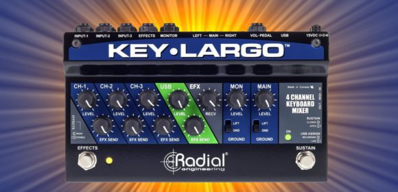 Radial Engineering Key Largo Top