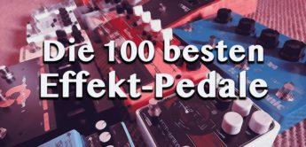 Die 100 besten Effekt-Pedale nach Kategorien, Gitarre