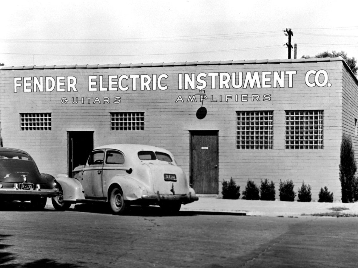 Die Geschichte von Fender Fender Fabrik