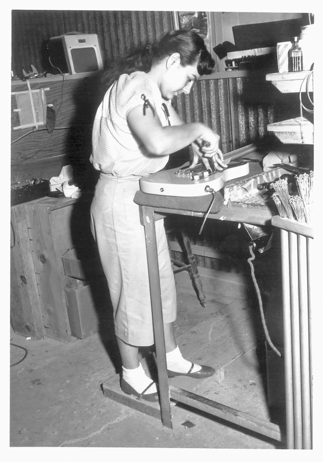 Die Geschichte von Fender Tele Assembly