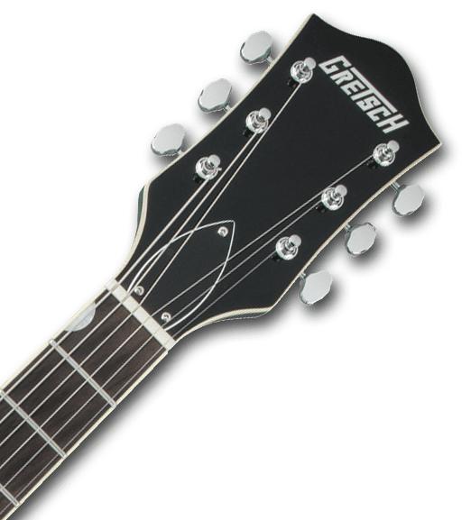 Gretsch G5622T-CB Electromatic GG Headstock