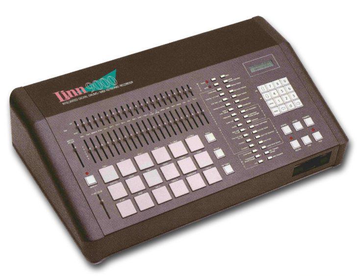 Die Linn 9000 von 1984, Vorläufer der AKAI MPC