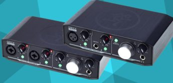 Test: Mackie Onyx Artist 1×2, Producer 2×2 Audiointerface