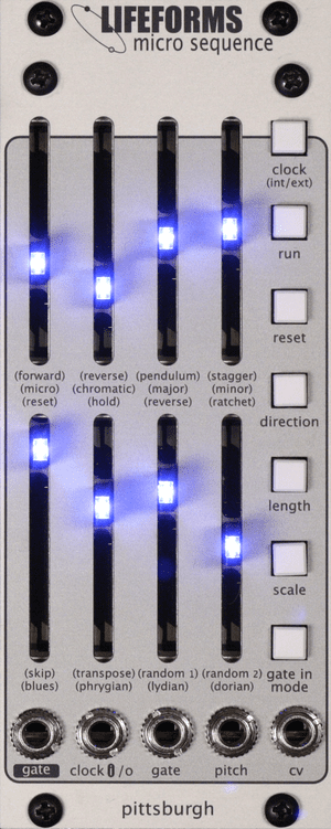 Pittsburgh Modular micro Sequence