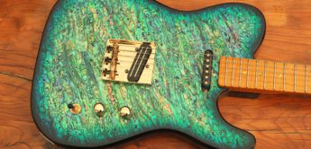 Test: Pearlvibe Guitars Blue Bayou, E-Gitarre