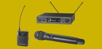 NAMM NEWS 2018: Audio Technica 3000er, 5000er Serie, Funksysteme