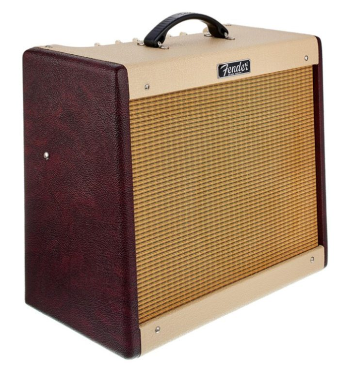 Test: Fender Blues Junior III Bordeaux LTD Gitarrenverstärker