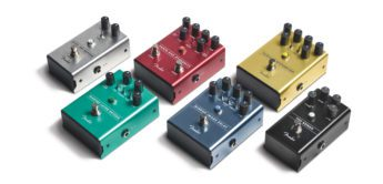 NAMM NEWS 2018: Fender Effektpedale
