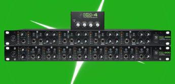 NAMM NEWS 2018: Mackie HM-4, HM-400, HM-800, M48, MDB-USB, Kopfhörerverstärker und Audio Tools