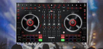 Test: Numark NS6II, DJ-Controller