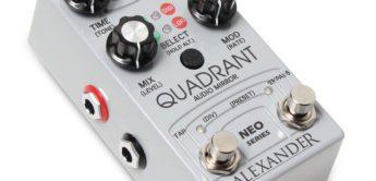 NAMM NEWS 2018: Alexander Pedals Quadrant, Echopedal