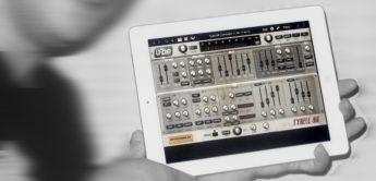 iPad Controller für Freeware-Synthesizer Tyrell N6