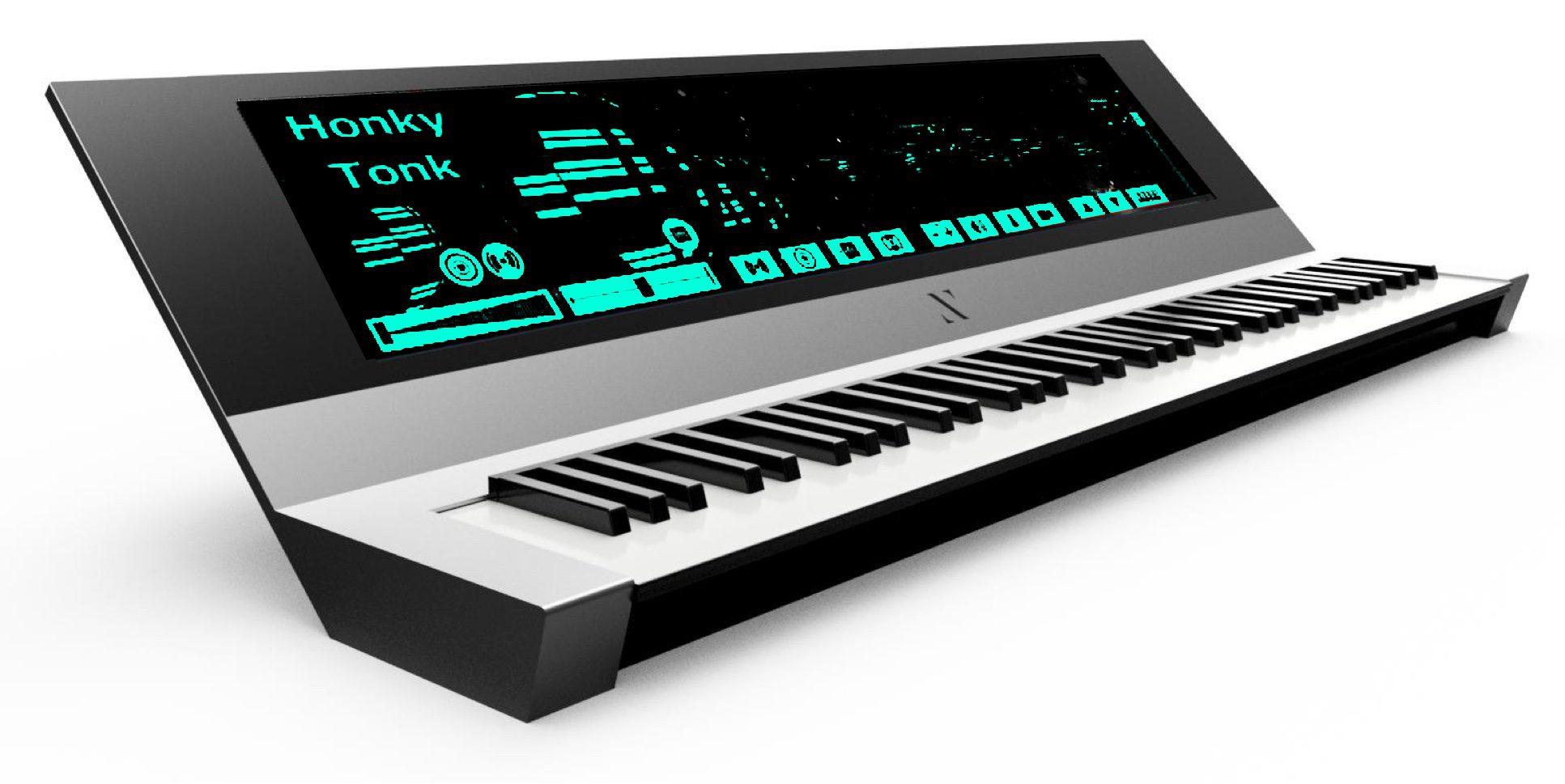 Namm  Yamaha Keyboard