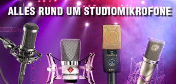 Alles rund um Studiomikrofone: Tests, Workshops und Tipps & Tricks