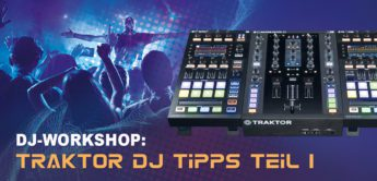 DJ-Workshop: NI Traktor Software, MIDI Mapping