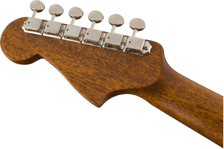 Fender Malibu Classic headstock rear