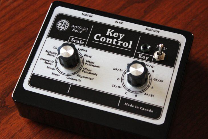 artificial noise key control