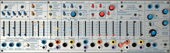Arturia_Buchla_Easel_V_Fader_Section